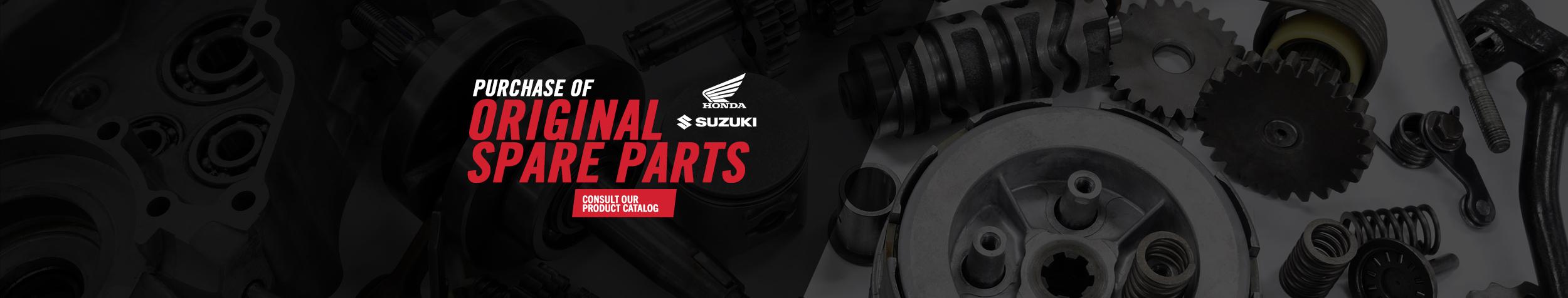 Purchase Honda or Suzuki parts
