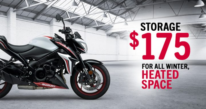 Motorcycle Winter Storage