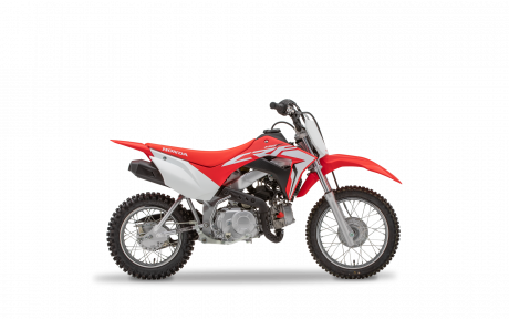 2021 Honda CRF110F Extreme Red