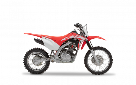 2021 Honda CRF125F Extreme Red