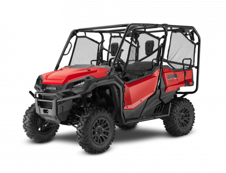 2021 Honda Pioneer 1000-5 EPS Deluxe Patriot Red