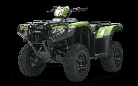 2021 Honda Rubicon 520 IRS EPS Mat Lichen Green Metallic