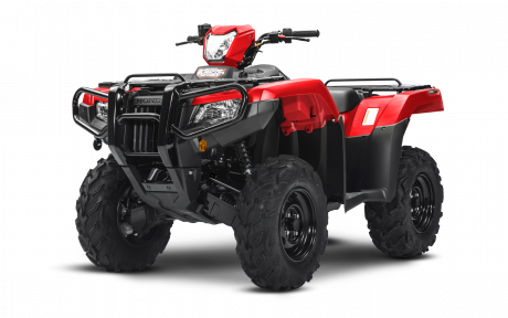 2021 Honda Rubicon 520 IRS EPS Patriot Red