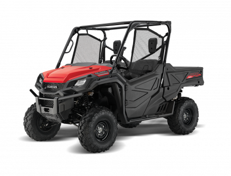 2021 Honda Pioneer 1000 EPS Patriot Red
