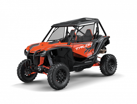2021 Honda Talon Pearl Tangelo Orange / Mat Stealth Gray Metallic