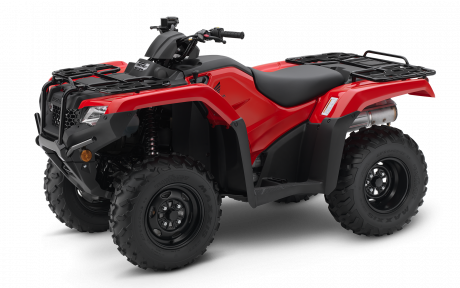2021 Honda Rancher TRX420 Patriot Red