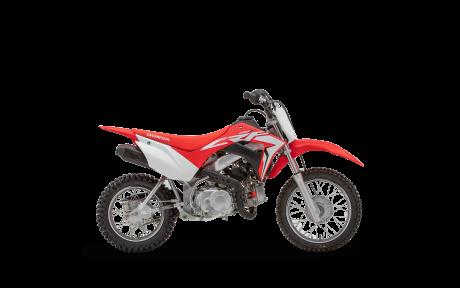 2021 Honda CRF110F Extreme Red