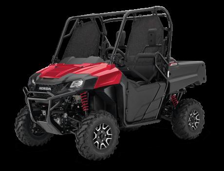 2021 Honda Pioneer 700-2 Deluxe Pearl Reaper Red