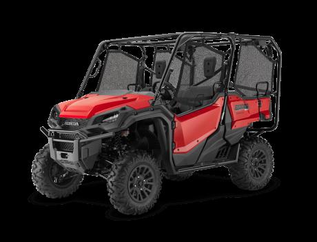 2021 Honda Pioneer 1000-5 EPS Deluxe Patriot Red