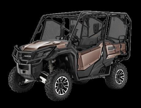 2021 Honda Pioneer 1000-5 EPS LE Mat Molasses Brown Metallic