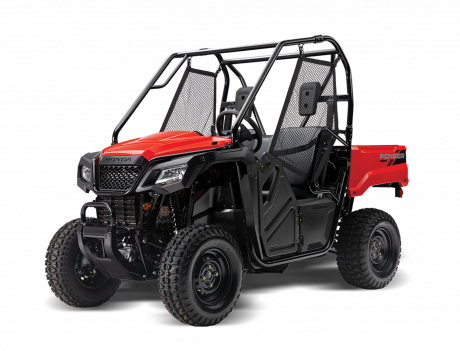 2021 Honda Pioneer 520 Patriot Red
