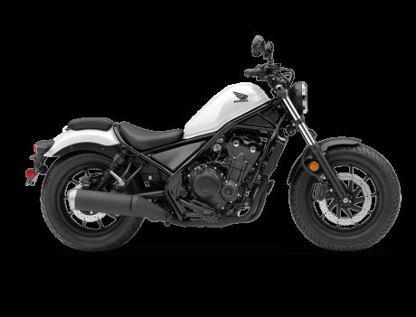 2021 Honda REBEL 500 Matte Pearl Summit White