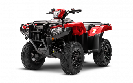 2021 Honda Rubicon 520 DCT IRS EPS Patriot Red