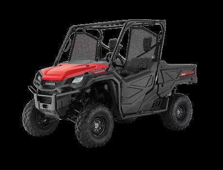 2021 Honda Pioneer 1000 EPS Patriot Red