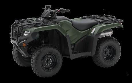 2021 Honda Rancher TRX420 Adventure Green